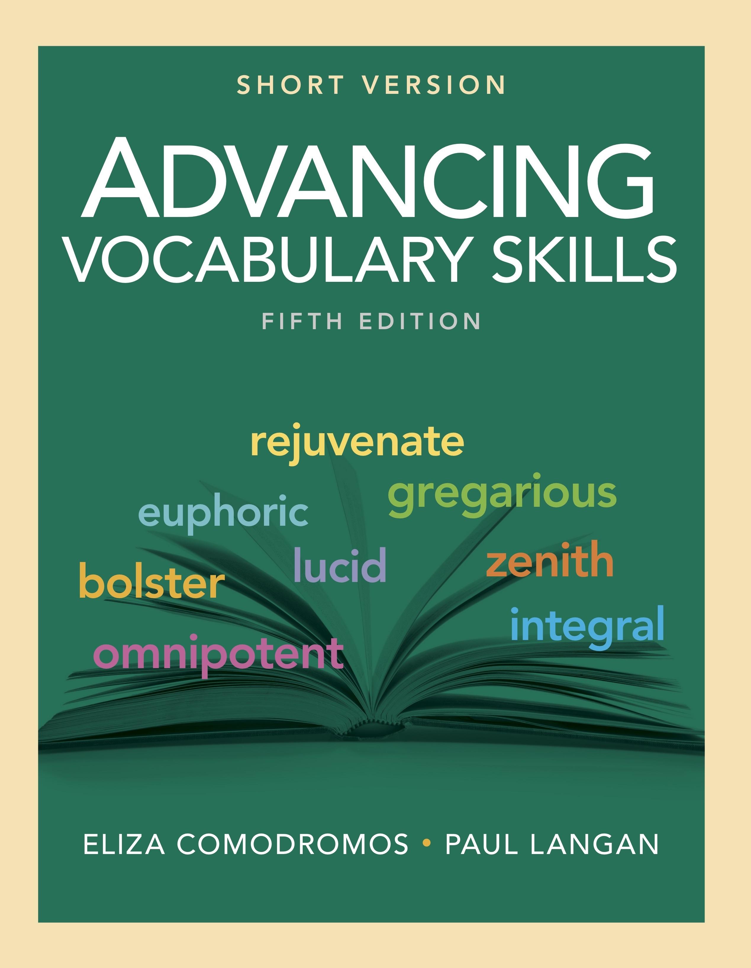 Advancing Vocabulary Skills Short Version 5 E Townsend Press