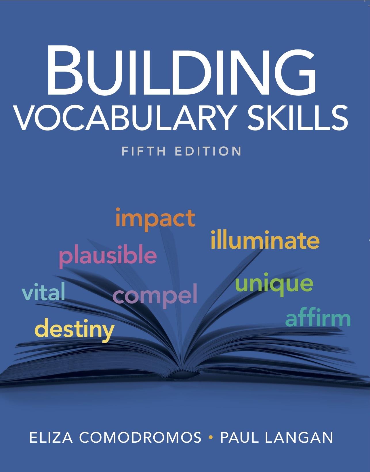Building Vocabulary Skills, 5/e | Townsend Press