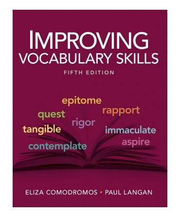 improving vocabulary skills mastery test answers